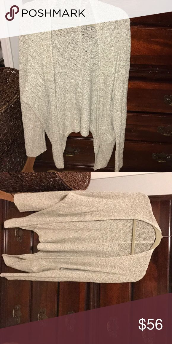 Brandy Melville Cardigan Light weight brandy cardigan that drapes down on the sides. perfect condition Brandy Melville Sweaters Cardigans