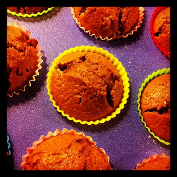Saturday night muffins #FTW! | Photo by dewarehagenaar