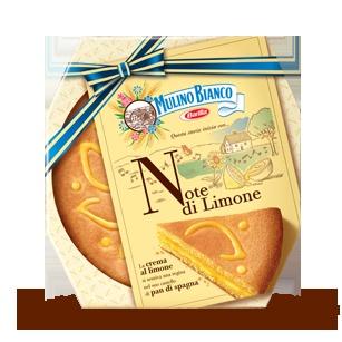 Torta al limone, Mulino Bianco