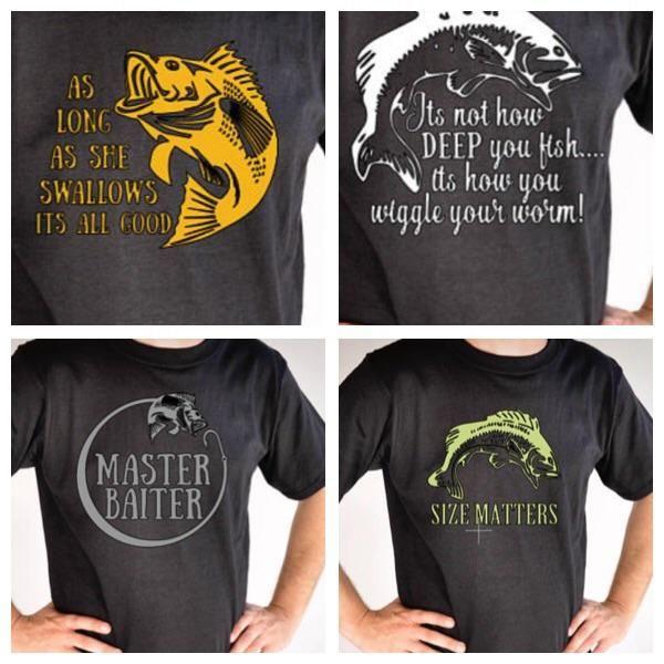Men's Fishing shirts, comical fishing shirts, bass fishing