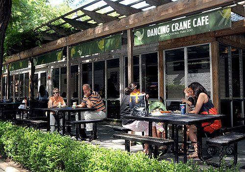 The Official Website Of Central Park Dancing Crane Cafe