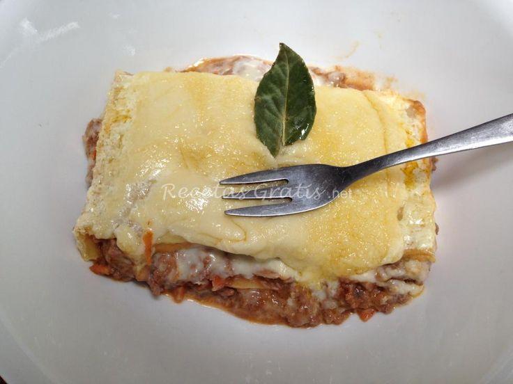 Receta de Lasagna italiana