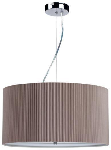 CLS PFMICRO/TAUPE | MICRO PLEAT PENDANT | 3 Light | MANTOVA Collection AA0678 1435763131401