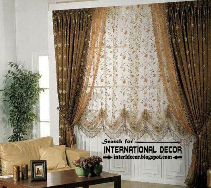 modern blackout curtains with floral patterned shade living room blackout curtains