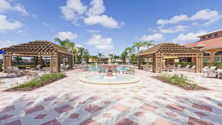 Condomínio de casas Bella Vida em Orlando #viagem #orlando #disney
