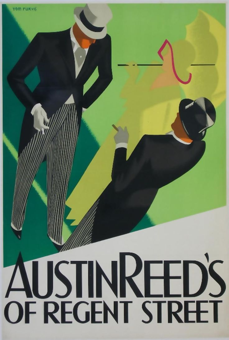 Vintage Top hat and tails for racing at Austin Reed's on Regent's Street, London