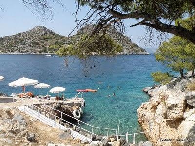 The small paradise of Agistri island.. near Athens... Greece