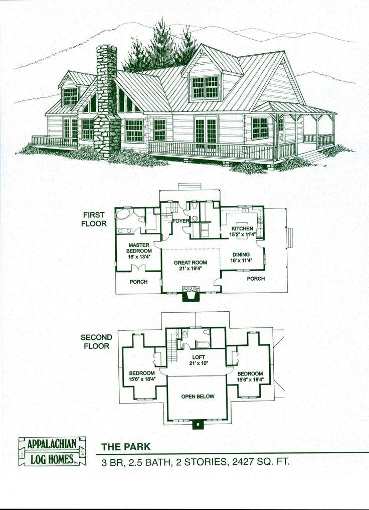 Cute log home plans
