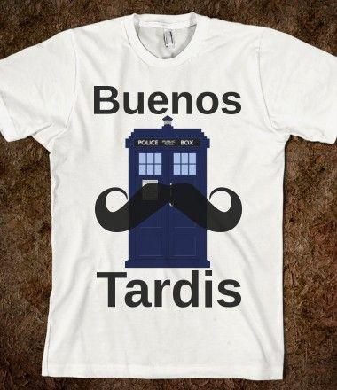 Buenos Tardis.... I just died.