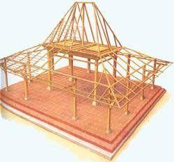 Joglo Structure, java