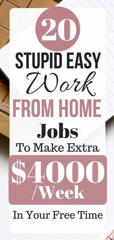 36 Easy Jobs From Home Need Little or No Experience – Make Money From Home