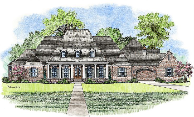 1000 ideas about acadian house plans on pinterest for Acadian french country house plans