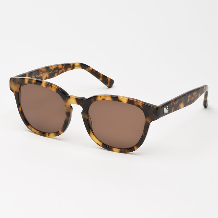 Eyewear - Kate Sylvester Sunglasses: Holly - Honey Tort