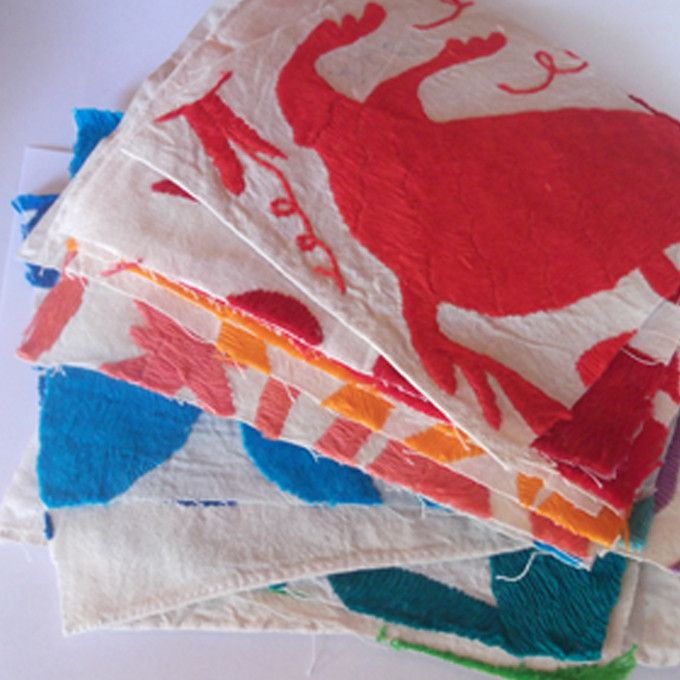 Otomi Embroidery Swatch
