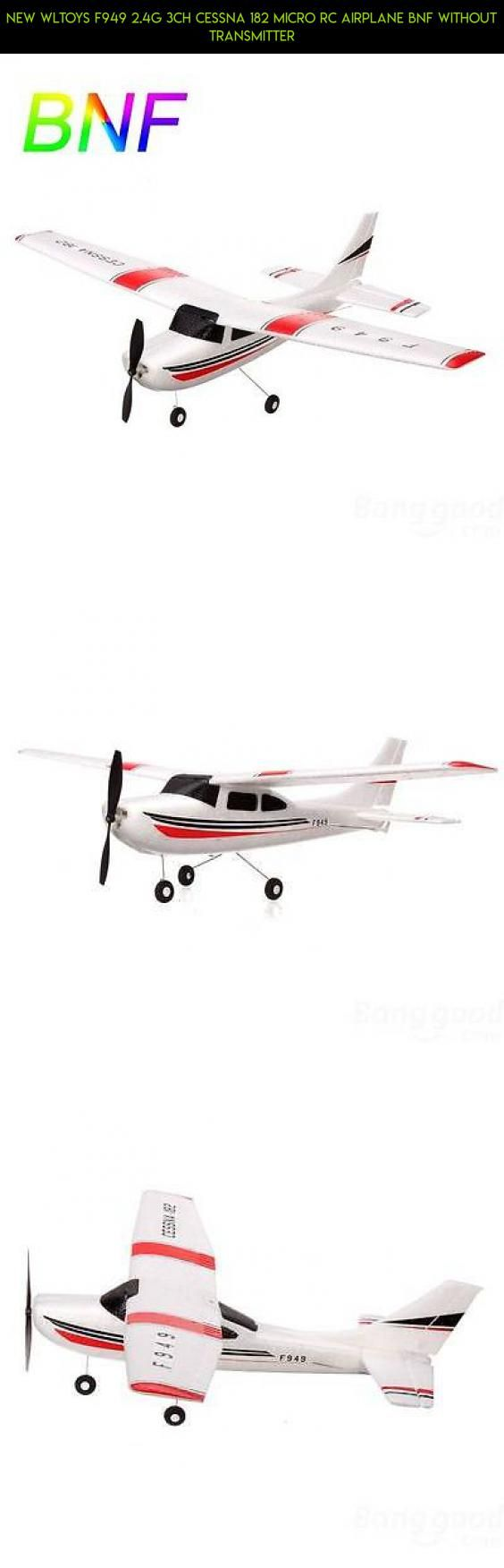 New WLtoys F949 2.4G 3CH Cessna 182 Micro RC Airplane BNF Without Transmitter #parts #fpv #plans #tech #gadgets #kit #technology #shopping #drone #cessna #camera #products #wltoys #racing