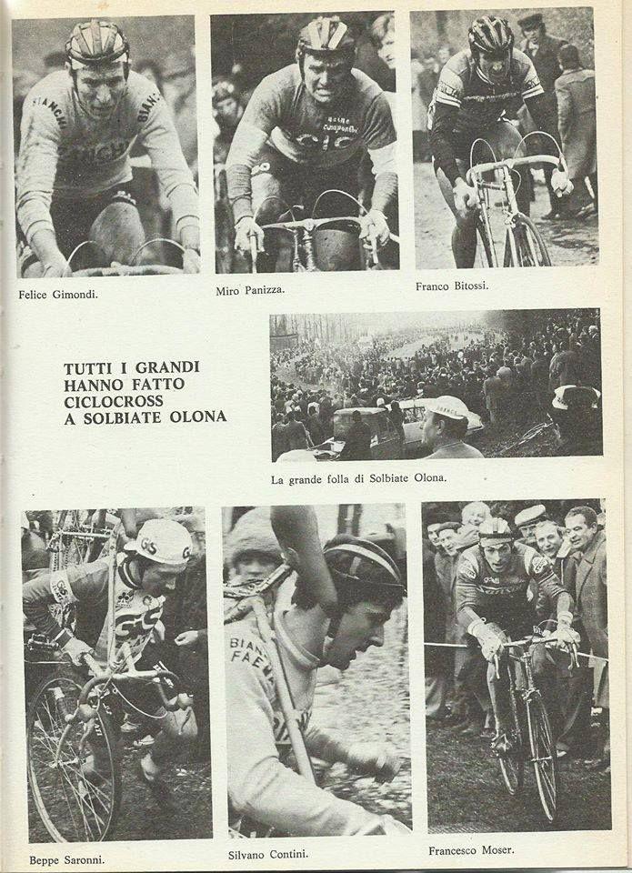 """Dal libro di Natale Cogliati """"Ciclismo, amore e fantasia"""" (La Varesina Grafica)  alcune pagine sulla Storia del Ciclismo a Solbiate Olona"""