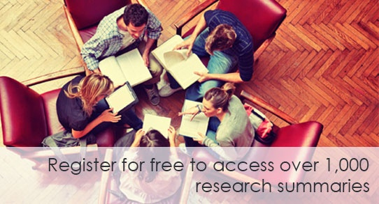 The Higher Education Empirical Research (HEER) database comprises summaries of the latest published research on a range of topics related to higher education.    It is intended for use by policy-makers, academics and researchers in higher education.    The database is fully searchable by theme, publisher and date. It is free to register.