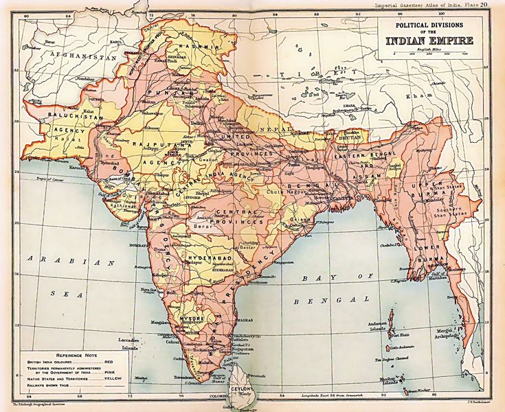 140 best old maps of india images on pinterest history of india a map of india while under the british empires control showing the location of assam gumiabroncs Gallery