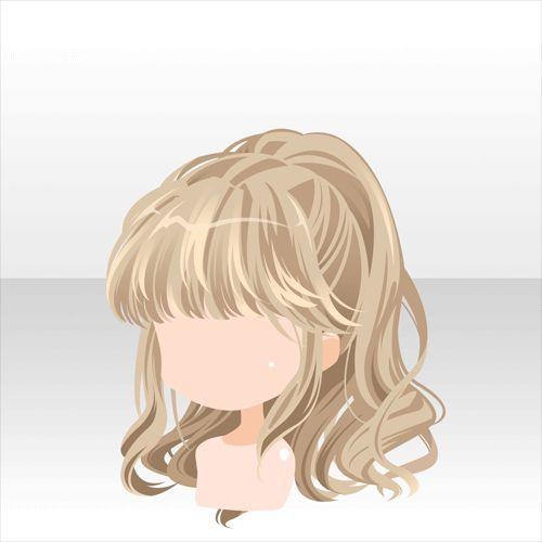 hairs anime