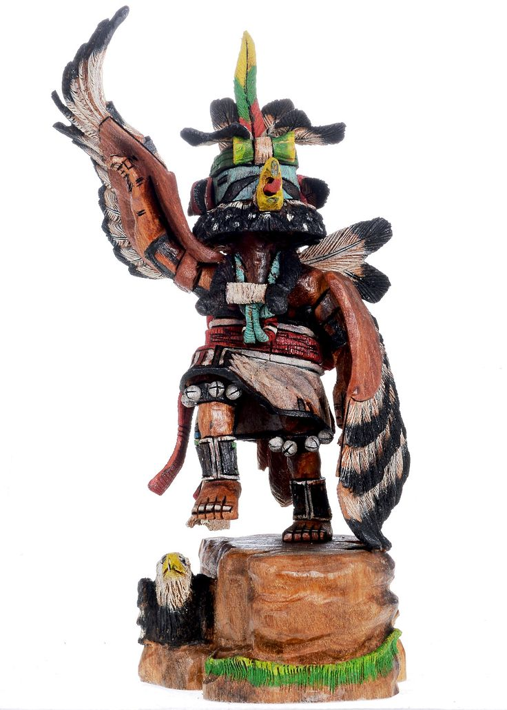 recipe: hopi eagle dancer kachina [22]