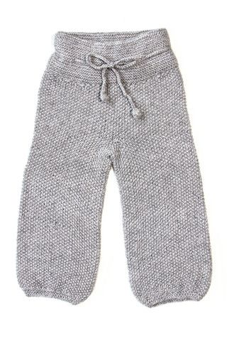 $79 Baggy Children Knitted Pants http://www.mioukids.com/collections/girls-alpaca/products/baggy-children-knitted-pants-cloud-grey