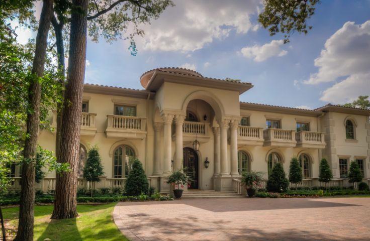 mediterranean villa in houston texas mansions. Black Bedroom Furniture Sets. Home Design Ideas