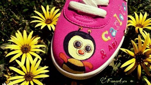 Fanart.es  Zapatillas pintadas a mano / carlotta & Abi