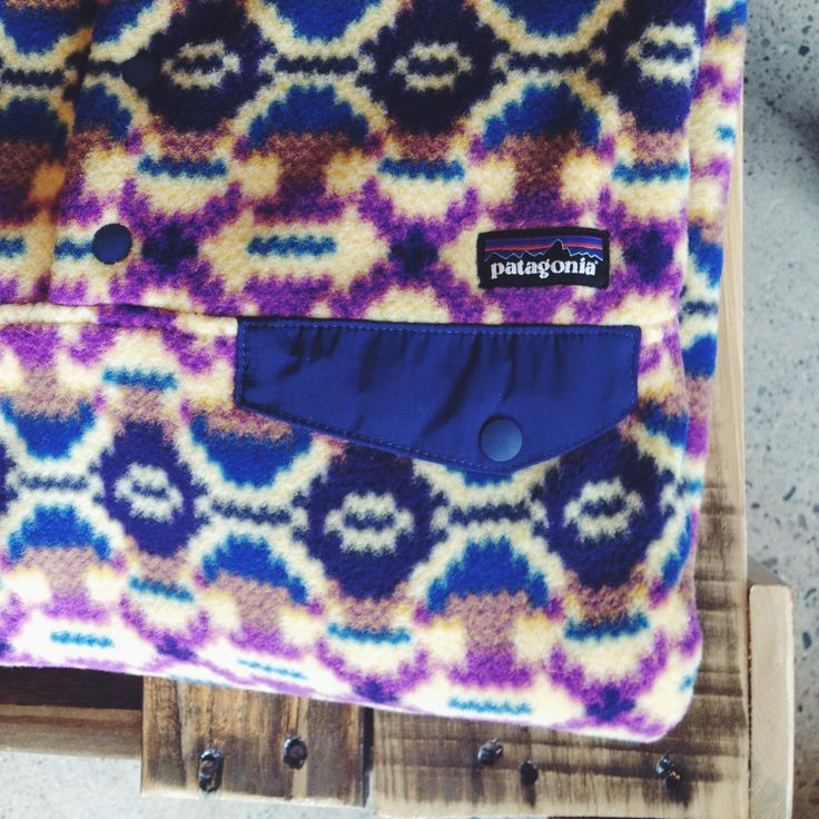 Love these new patterns from Patagonia.