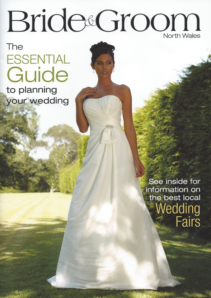 Fuschia featured in the latest edition, January 2013 of Bride and Groom North Wales.