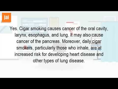 Do Cigars Cause Mouth Cancer? - WATCH VIDEO HERE -> http://bestcancer.solutions/do-cigars-cause-mouth-cancer-2    *** how many years of smoking causes oral cancer ***   Fda study cancer risks nearly nil for 1 2 cigars per day. Cigarette, cigar, and pipe smoking the risk of head neck cancers pooled analysis 10 nov 2014 according to national cancer institute, part institutes health (nih), cigar causes oral...