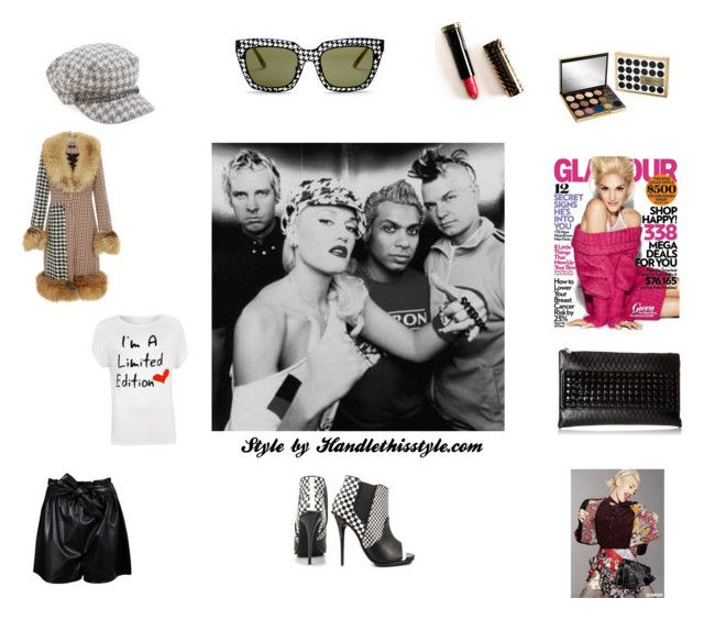 """No Doubt/Gwen Stefani 🙌❤️😍"" by handlethisstyle ❤ liked on Polyvore featuring E L L E R Y, August Hat, gx by Gwen Stefani, GX, Urban Decay, Boohoo, WearAll, L.A.M.B. and plus size clothing"