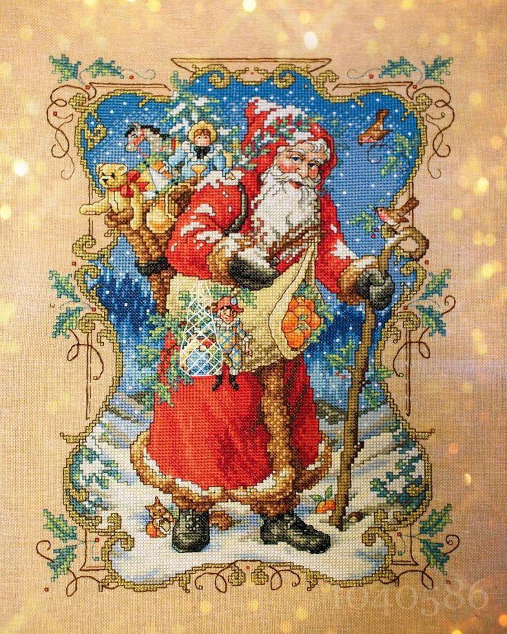 Дед Мороз из книги Holiday Book - The Charms Of Christmas.