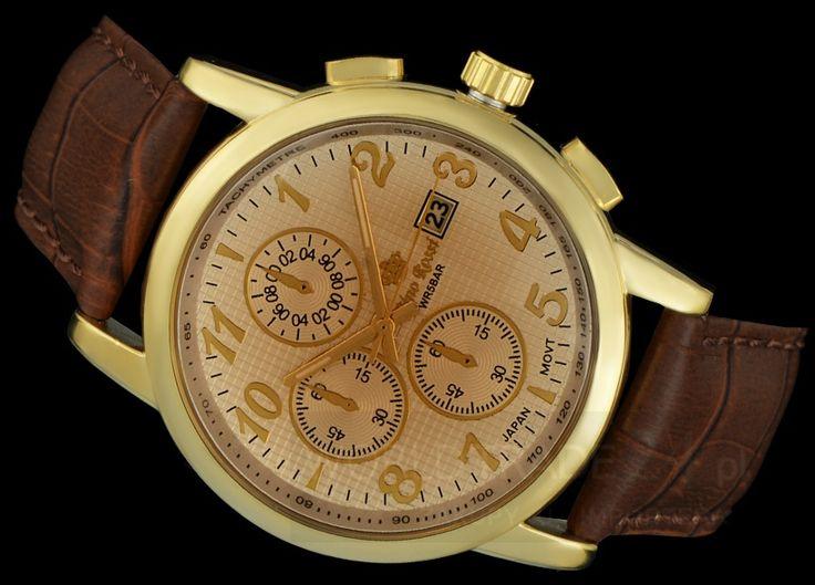 MEN'S WATCH GINO ROSSI 9402A-4B1 GDBR DATA 50M - Zegarki, Zegarki damskie, zegarki męskie, zegarki Casio, zegarki Timex