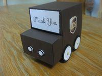 UPS Truck Tutorial - Jan's Stamping Creations