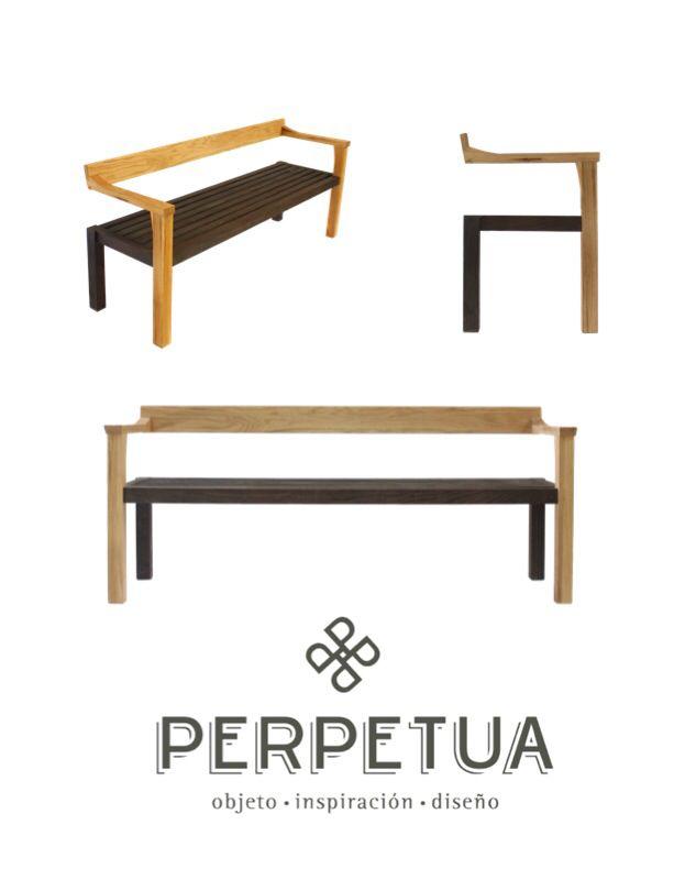 ®Perpetua Muebles #perpetua #muebles #madera #banca Más Información O  Catálogo Completo. Wood FurnitureTables