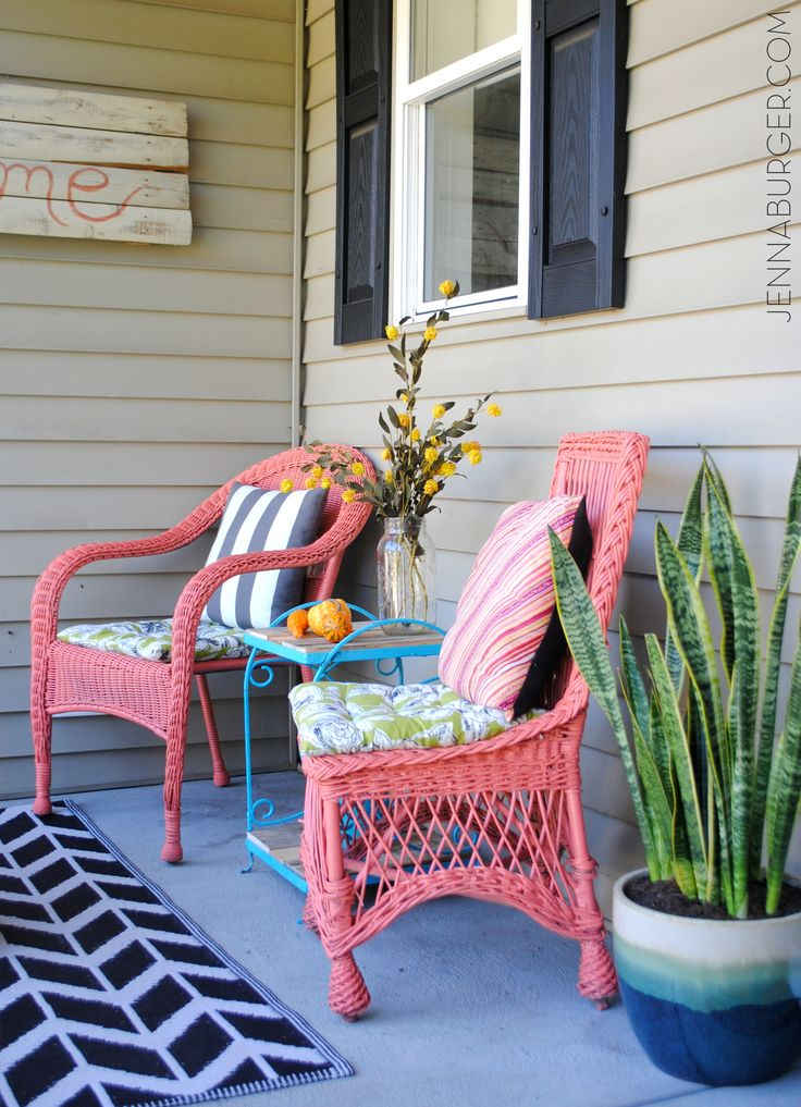 Best 25 Painting Wicker Furniture Ideas On Pinterest