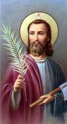 ORVALHO DO AMANHÃ: Judas Tadeu, o apóstolo dos angustiados
