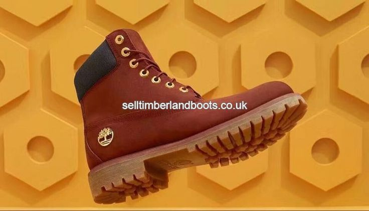 2017 New Women's Timberland 6 Inch Boots - Red Brown And Grey Outlet UK £72.00