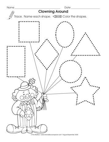 clowning around lesson plans circus theme preschool worksheets preschool circus preschool. Black Bedroom Furniture Sets. Home Design Ideas