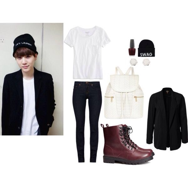 Bts suga inspired outfit