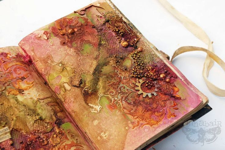 Finnabair: Art Recipe Wednesday: Autumn Landscape or poetry of disintegration?