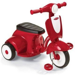 Radio Flyer, Zvočni tricikel