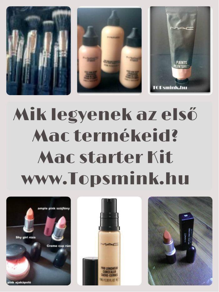 Sminktermékek - Milyen Mac termékeket vásárolj, ha még kezdő vagy a sminkelés terén? Olvasd el a blogon! Topsmink.hu Smink, Sminktippek, Smink termékek
