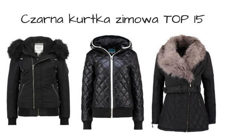 czarna kurtka na zimę