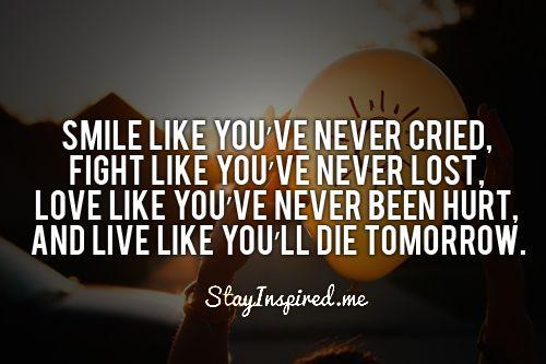 encouragement:)