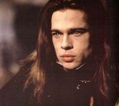 """Brad Pitt en """"Entrevista con el vampiro"""", 1994"""
