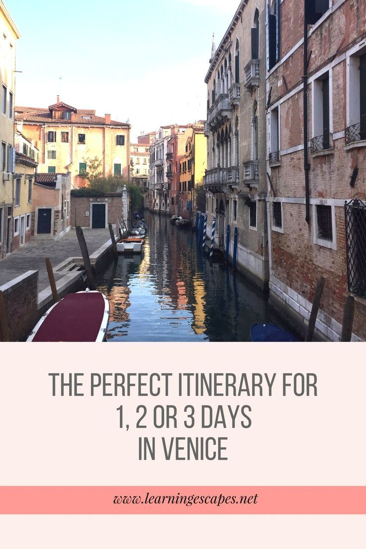 The perfect Venice itinerary to make the most of 1, 2 or 3 days in the city on water. Insider's tips, must see Venice attractions, hidden gems plus recommendations on where to stay in Venice with family or friends
