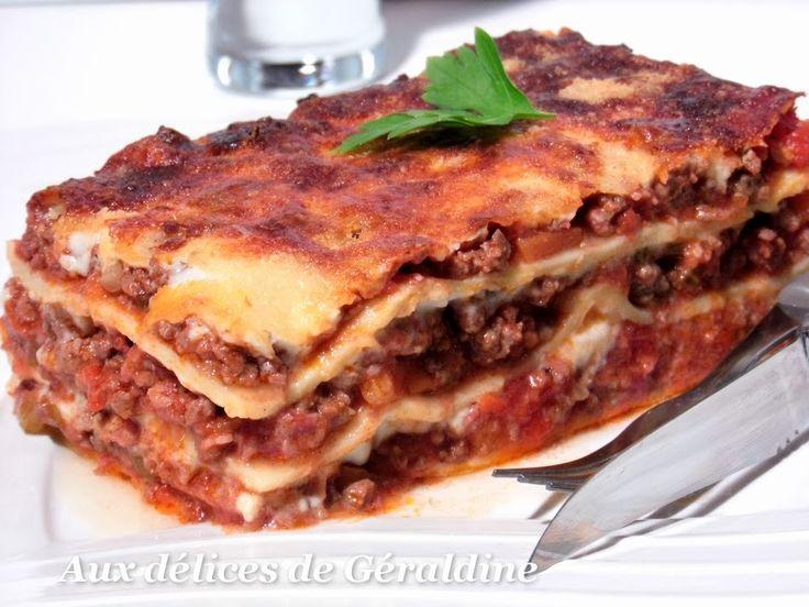 Recette lasagne bolognaise maison recette cannelloni - Youtube cuisine italienne ...