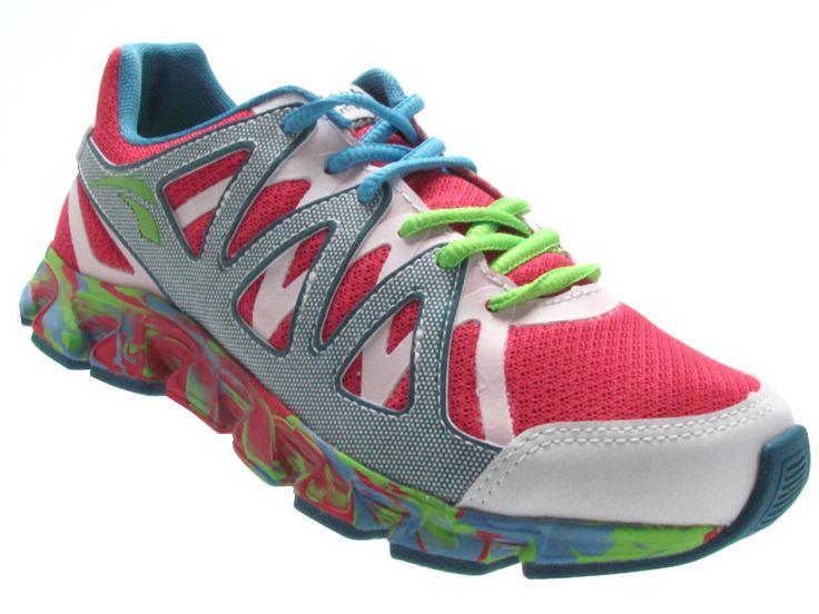 Kolosh K8182/5F Flihtf Tênis Running Feminino - branco-rosa-pink