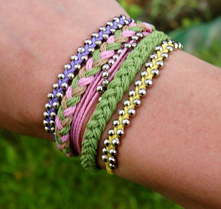 summer bracelet, boho jewelry, strings bracelets